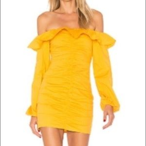Tularosa Zuri Dress in Marigold